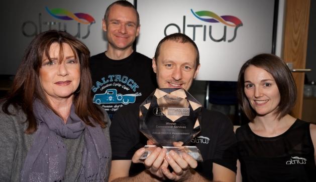 Altius wins top technology award