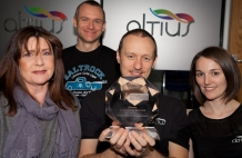 Altius Wins Top Technology Award