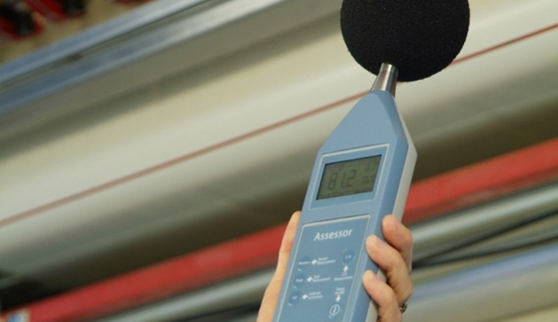 Noise monitoring in the workplace with a Pulsar sound level meter