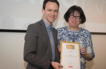 Former Student Scoops Top Journalism Award