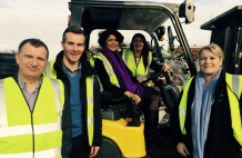 Shadow Minister Views State Of The Art IT At Black Country Metal Recycler