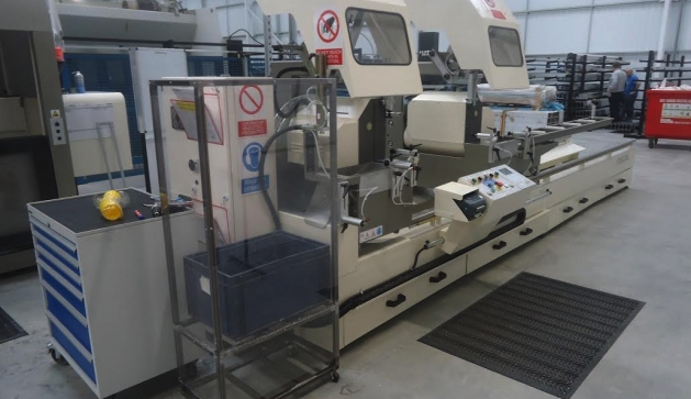 Mecal Maching Centre And Mitre Saw Cut Lead Time In Half For