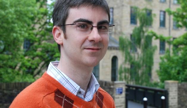 Dr Shaun McDaid of the University of Huddersfield