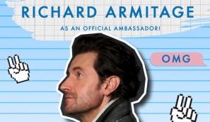 The Cybersmile Foundation Announces Richard Armitage As An Official Ambassador