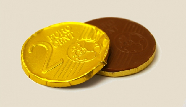 Chocolate coins by Berkeley Robinson