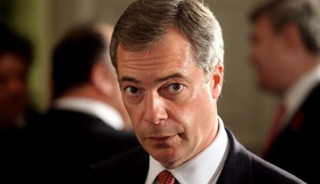 Nigel Farange, MEP and leader of UKIP